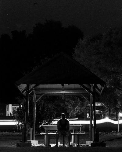 Taken at Hartebeespoortdam, South Africa Long Exposure Nightimephotography Symmetry Bnw