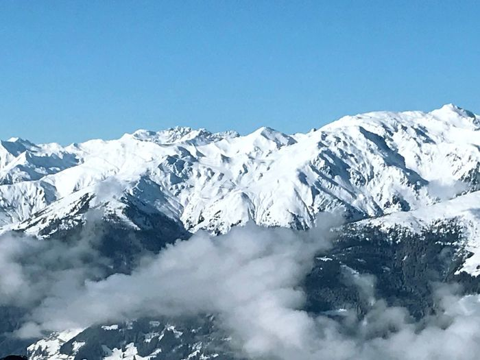 Snow Mountain Winter Cold Temperature Sky Beauty In Nature Scenics - Nature A New Beginning Winter Beauty In Nature Environment Mountain Range Snowcapped Mountain Nature Landscape Day Blue Tranquil Scene Tranquility Clear Sky No People White Color Outdoors