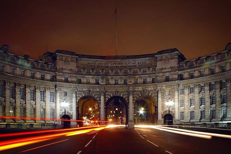 Admiralty Arch in London by night - crossing the arch You'll get straight to Buckingham Palace EEprojects Canon_photos Snapzone LiveTravelChannel Architecture Building Design Admiraltyarch London Traffic British Architecturephotography Urbanscene Lights Amazing_longexpo Awesomeearth Earthfocus Symmetricalmonsters Cbviews Realestate Ig_nightphotography Beautifuldestinations Streetphotography Exploretocreate Symmetrykillers ukig_ometrycitykillerzartofvisualsjustgotravelsc