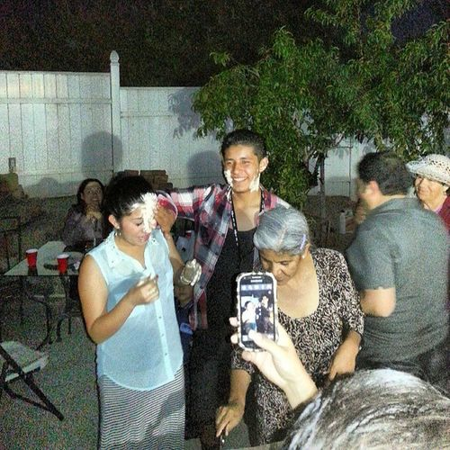 Family get togethers Party Family Brotherlylove Brosis legal 18yrs cakeface @marcosdrummer1 @marcykings