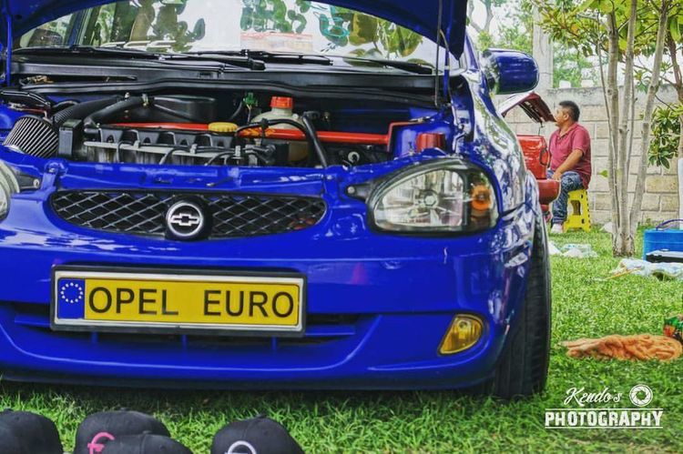 Opel EuroStyIe Blue Kendosphotography