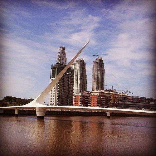 Puente de la Mujer, Puerto Madero, Buenos Aires Puertomadero Puente Puentedelamujer Bridge pont buenosaires dique3
