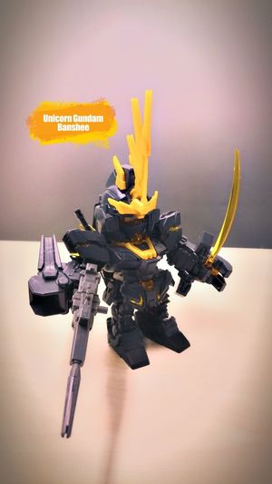 Unicorn Gundam Banshee Ii by P4lsoe