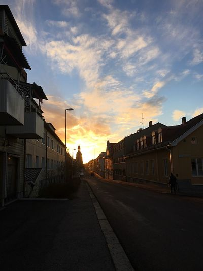 Lovely weather in Sweden last morning. EyeEm Gallery Silhouette World Europe Sweden OpenEdit Beautiful Open Edit Sunrise Beauty Sun Hello World EyeEm Eyem Best Shots Photography Streetphotography
