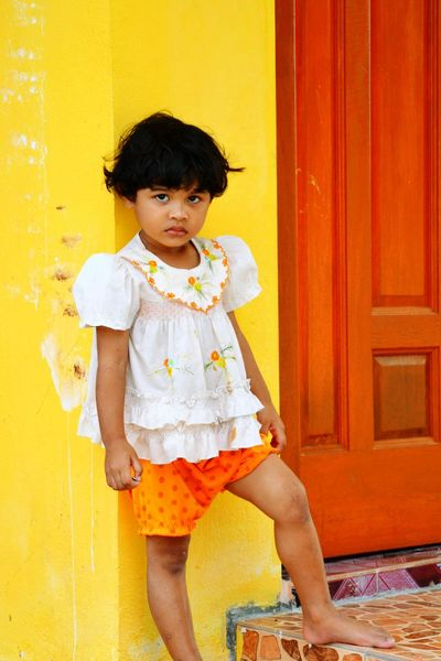 From the old archives. Lifestyles Childhood Casual Clothing Person Innocence Day Toddler  Entrance Eyes Are Soul Reflection Beautiful Child Langkawi Penang
