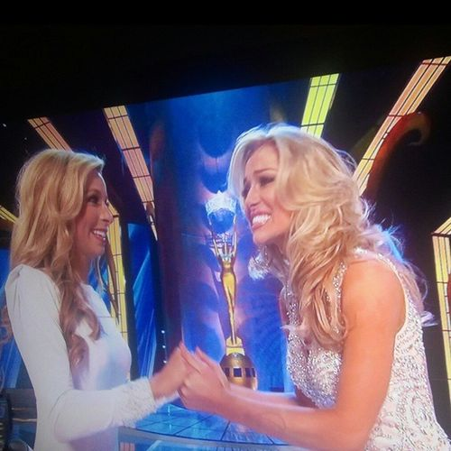 Was Checkin' In On This Business... Missamerica the one on the left from NY was the winner.. But I though the one on the right should have won.