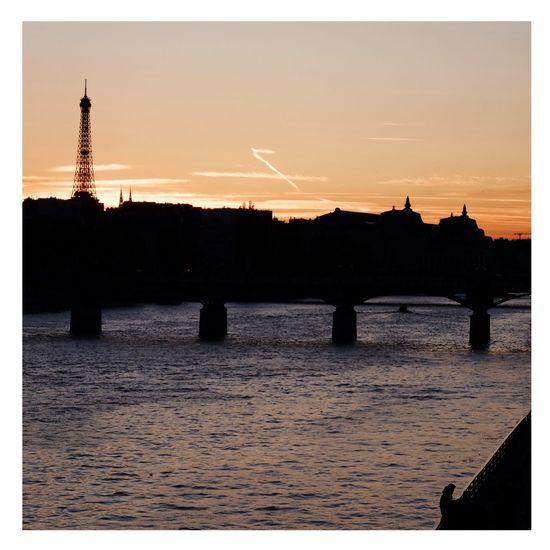 Sunset Water No People E Eiffel Tower Fujinon 60mm Fujifilm_xseries Summer Paris, France  Paris Seine Seine River