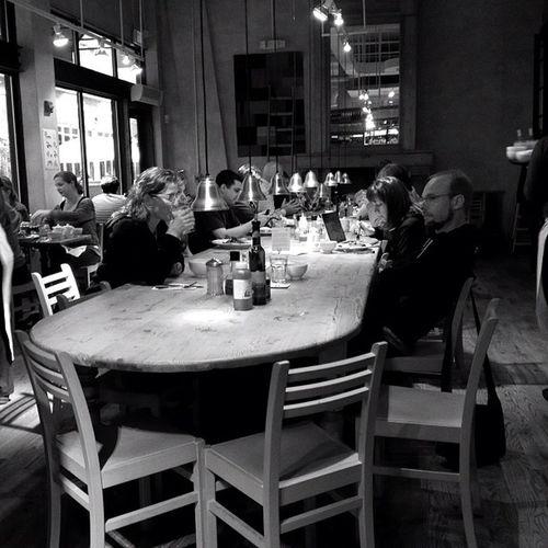 Communal Table. #jomo #iphoneography #bethesda Coffee IPhoneography Bethesda 645pro Jomo Takenwithaniphone Lepainquotidien