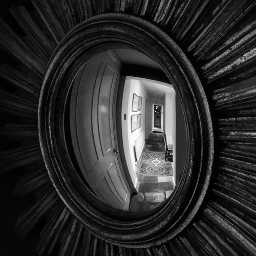 Corridor England, UK Pub Inn Mirror Convex Reflection Old Indoors  Welcome To Black Welcome To Black Welcome To Black Rethink Things