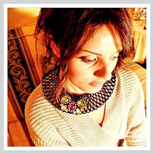 Sara Germani Design - Transformable necklace - Handmade Made in Italy