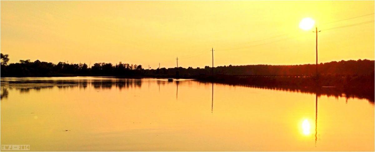 Brucegreysimcoe Sunset Lake View Eugenia Lake