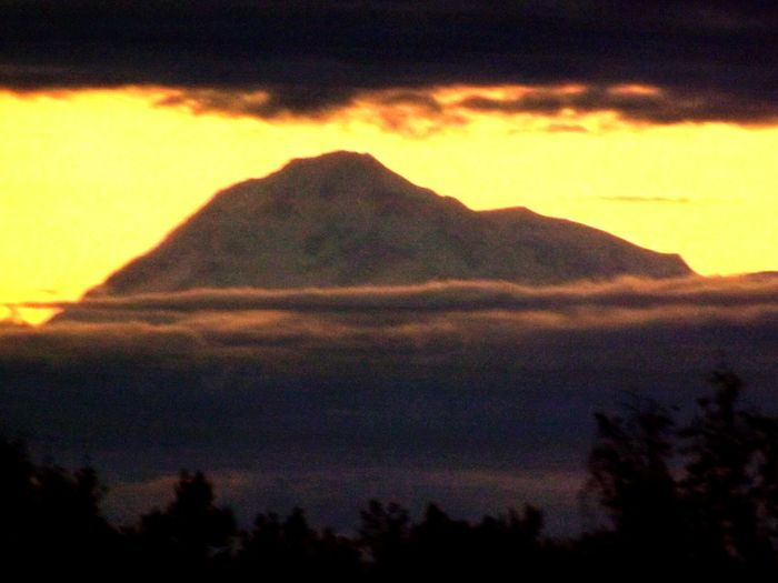 Nature Photography Outdoor Photography EyeEm Nature Lover Enjoying Life Outdoors Alaska Mountin Mount McKinley Evening Sky Tip Top Mountain Mount Denali