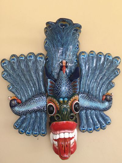 Traditional mask Magic Bird EyeEm Selects Art And Craft Craft Wall - Building Feature Creativity Representation Indoors  No People Pattern Statue Decoration Table Sculpture