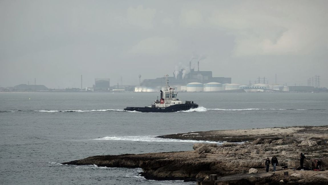 Boat Industrial Mediterranean  Mediterranean Sea Oil Petrol Sky The KIOMI Collection