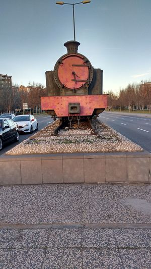 El ttenecito o la locomotora No People Outdoors Day Sky Train Snartphonephoto Bridge - Man Made Structure Travel Destinations Tourism 2017 Eddl Zaragoza Built Structure Building Exterior