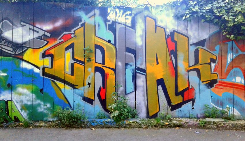 Graffiti Street Art Outdoors PhonePhotography City San Francisco Neighborhood Phoneography California Missiondistrict Creak Graffart