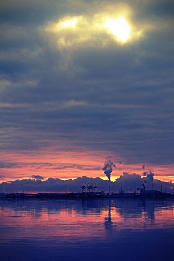 'Morning Light' Sunrise, Autumn Colors, Landscape,