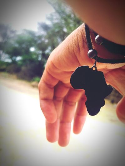 Where my heart and soul is ... I Am African Human Hand Human Finger Close-up Day Outdoors Africa African Black Bracelet Rustic Dirty EyeEmNewHere