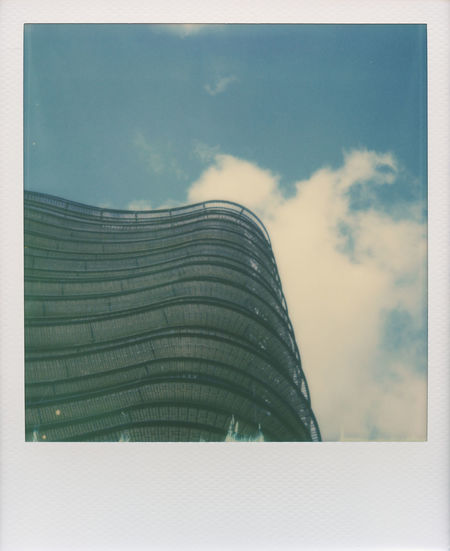 Offices from below - Roidweek 2016 Architecture Blue Blue Sky Building Impossible Impossible I-1 Impossible Project Instant Minimal Minimalism Minimalistic Modern Modern Architecture Office Polaroid Polaroidweek Roidweek Roidweek2016 Simple Simple Composition Sky Urban