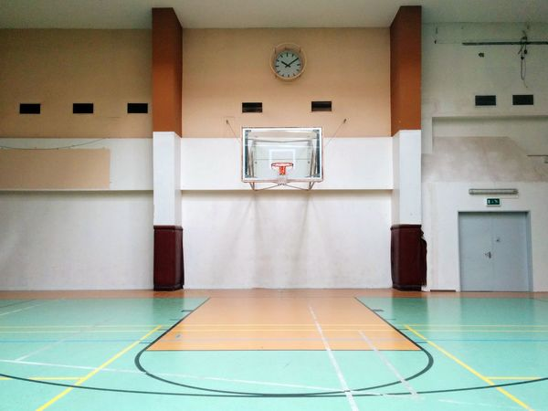 Basketball Sports Abandoned Places Time Templehof Airport Indoors  Sport No People Gym Basketball - Sport Basketball Hoop Architecture Physical Education Court Day