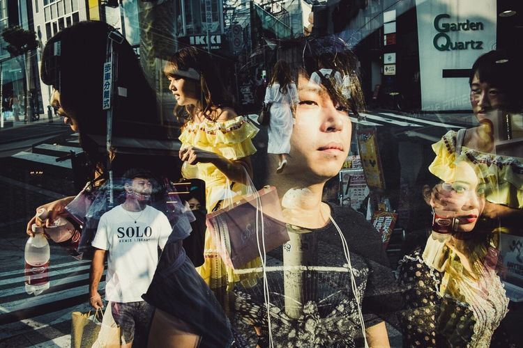 OSAKA Japan Double Exposure Streetphotography
