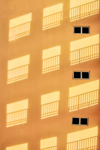 Dear wall... Wall Building Structure Windows Architecture Yellow City Clean Wall Great Design The City Light