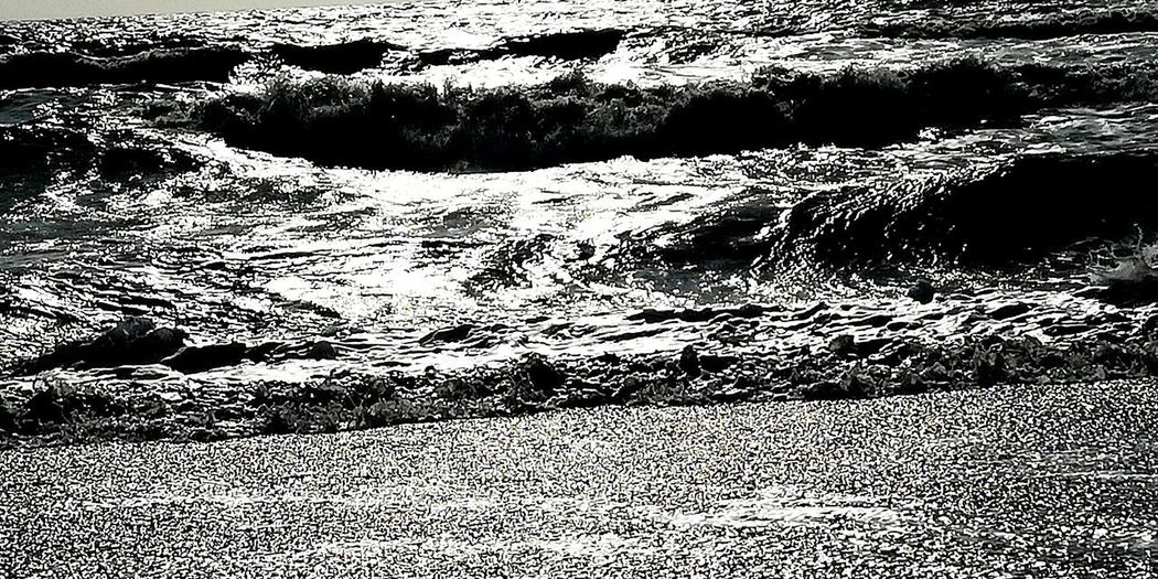 Urlaub 2018 Italy Toscana Meer Sea Water Backgrounds Full Frame Pattern Abstract Close-up