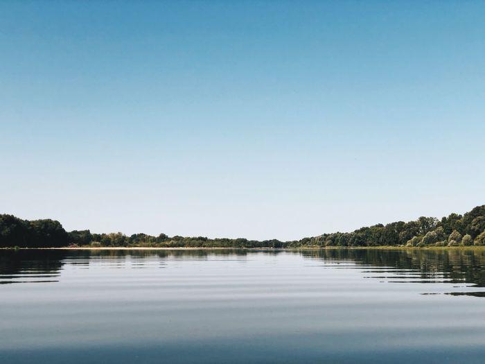 La Loire Sérénité Paisible Eau Fleuve Loire First Eyeem Photo