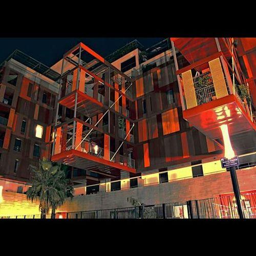 Cubix Mtp Montpellier Southoffrance SudDeFrance Hérault Architecture Design Richter RedBlack Red Black Rouge Noir Rougenoir