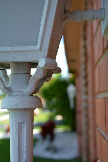 Architectural Feature Architectural Detail Homefront Close-up Outdoors No People Day Home Exterior Light Fixture Light Fixtures Architecture Building Exterior Focus On Foreground
