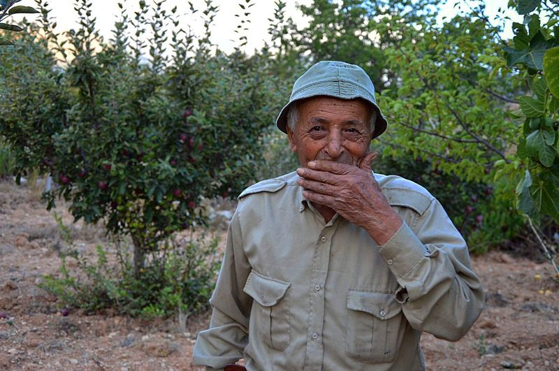 Jeddo, don't say that world ! Tree Portrait Nature Looking At Camera Standing Hat