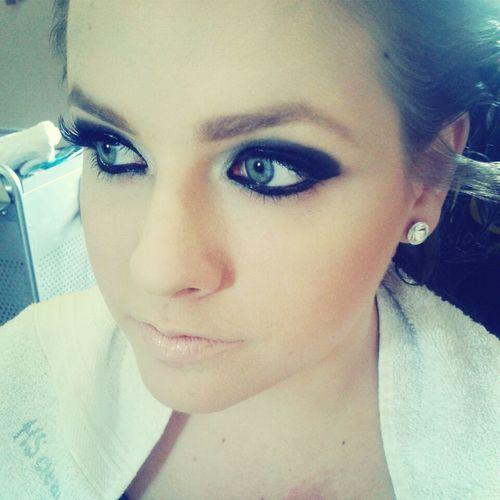 Muriele e seu olho feio. hahaha