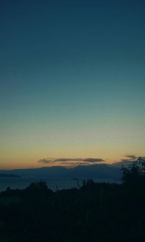 Landscape Beautiful Run Colors South Chile Photography Sky Blue Make Happy Late Afternoon Sky