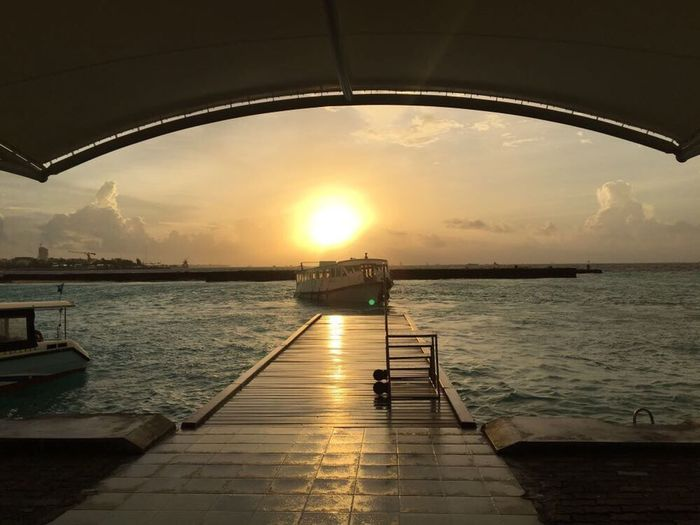 Travel Destinations Maldives Travelling Sunset An Eye For Travel An Eye For Travel The Traveler - 2018 EyeEm Awards