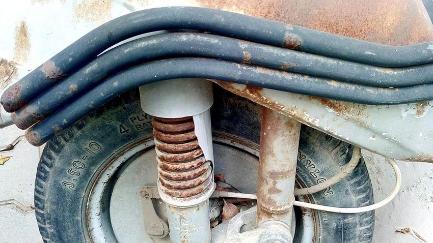 Scooter front wheel SSClickpix SSClickPics SSClicks Ssclix Mobilephotography Close-up Spiral