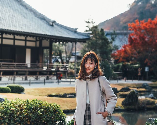 My Smile One Person Architecture Real People Focus On Foreground Built Structure Young Adult Young Women Lifestyles Standing Casual Clothing Leisure Activity Front View Day Nature Long Hair Building Exterior Tree Plant Adult Hair Hairstyle Beautiful Woman Outdoors Change It's About The Journey
