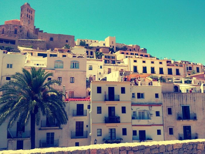Dalt Vila Ibiza Smartphonephotography Viajes  Taking Photos Travel Photography CityWalk City View  Showcase March Landscapes With WhiteWall