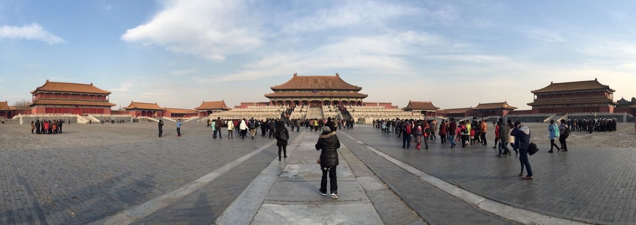 The Forbidden City. The EyeEm Facebook Cover Challenge Taking Photos Panorama Panoramic Forbidden City Eye4photography  My Best Photo 2014 Vanishing Point