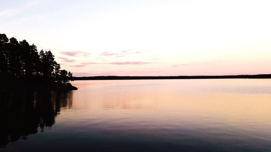 Sweden Sweden-landscape Relaxing Moments Nature_collection Stunning Place Sunset Lovers Sunset_collection Peace And Quiet Peaceful Evening Peace Of Mind Showcase: February Horizon Over Water