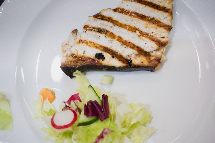 Swordfish Close-up Day Fish Fish Plate Food Food And Drink Freshness Grilled Healthy Eating Indoors  Indulgence No People Plate Ready-to-eat Restauratn Serving Size