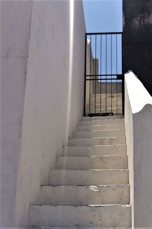 Architecture Building Exterior Built Structure Cacela Velha Portugal CacelaVelha Day No People Outdoors Railing Staircase Steps Steps And Staircases Sunlight The Way Forward