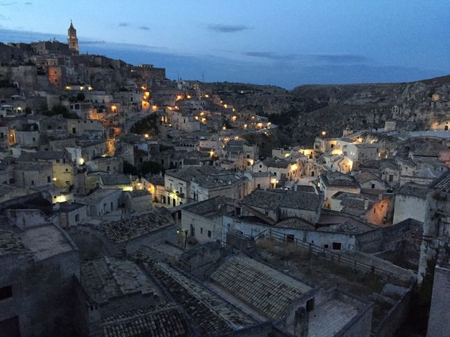 Cities At Night Matera Matera2019 Matera View Matera Italy Matera Street Photography View Architecture Night Unesco UNESCO World Heritage Site Europe Culture Tourism Lights