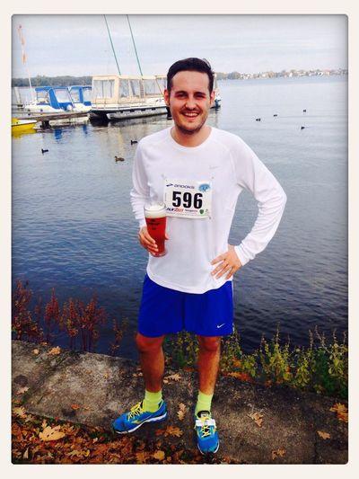 Halbmarathon Running