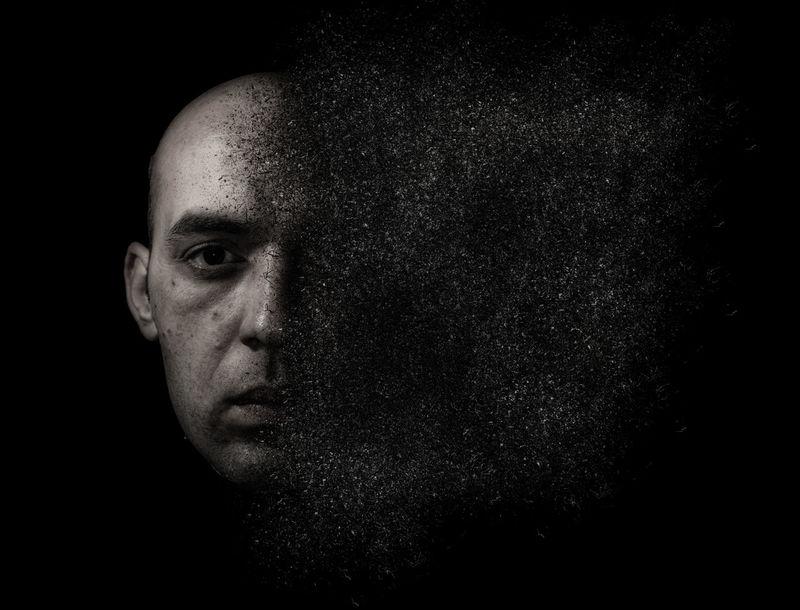 Angry Brainstorming Photoshop Edit Broken Broken Heart Face Nervous Sefie