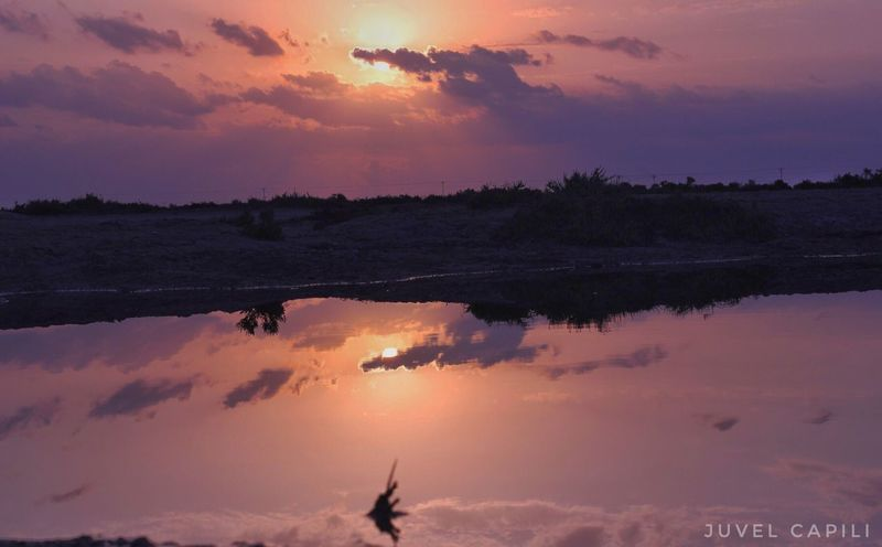 Sunset Sky Nature Beauty In Nature No People Scenics Reflection Tranquil Scene Tranquility Cloud - Sky Water Outdoors Day
