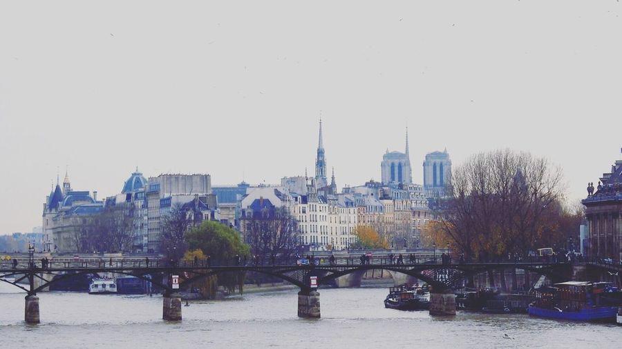 Architecture Building Exterior Paris Bridge - Man Made Structure River Water Travel Destinations