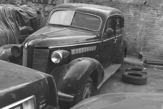 Old car, Cairo Egypt Old-fashioned Land Vehicle Retro Styled Car Headlight Vintage Car