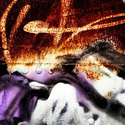 With a flourish! #rusty #train #carriage #graffiti #grimy #purple #myhometown #bellarine #drysdale Graffiti Train Purple Rusty Carriage Myhometown Grimy Drysdale Bellarine
