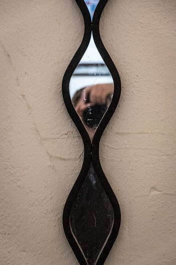 I spy. Close-up Mirror Mirrorselfie Wall Glass Day Indoors  Savannah 365project