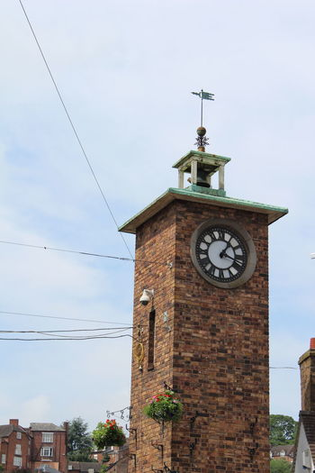Architecture Bridgnorth Built Structure Clock Clock Face Clock Tower Time Tower